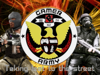 Gamer Army Taking leet to the Street